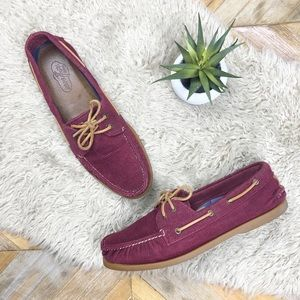 •SPERRY TOP-SIDER• Corduroy Boat Shoes Loafers